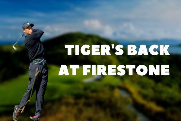 Tiger Woods' return to the WGC-Bridgestone Invitational