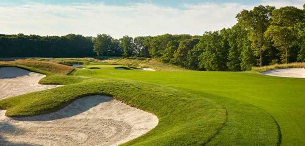 Fantasy Golf Hole 5 - Bethpage Black Course