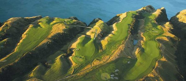 Fantasy Golf Hole 15 - Cape Kidnappers