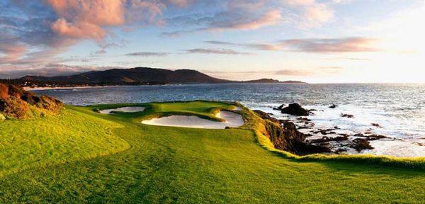 Fantasy Golf Hole 7 - Pebble Beach