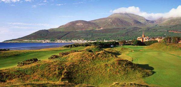 Fantasy Golf Hole 9 - Royal County Down