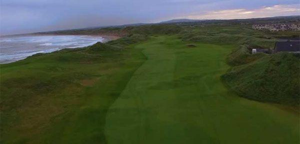 Fantasy Golf Hole 1 - Trump International Golf Links Ireland