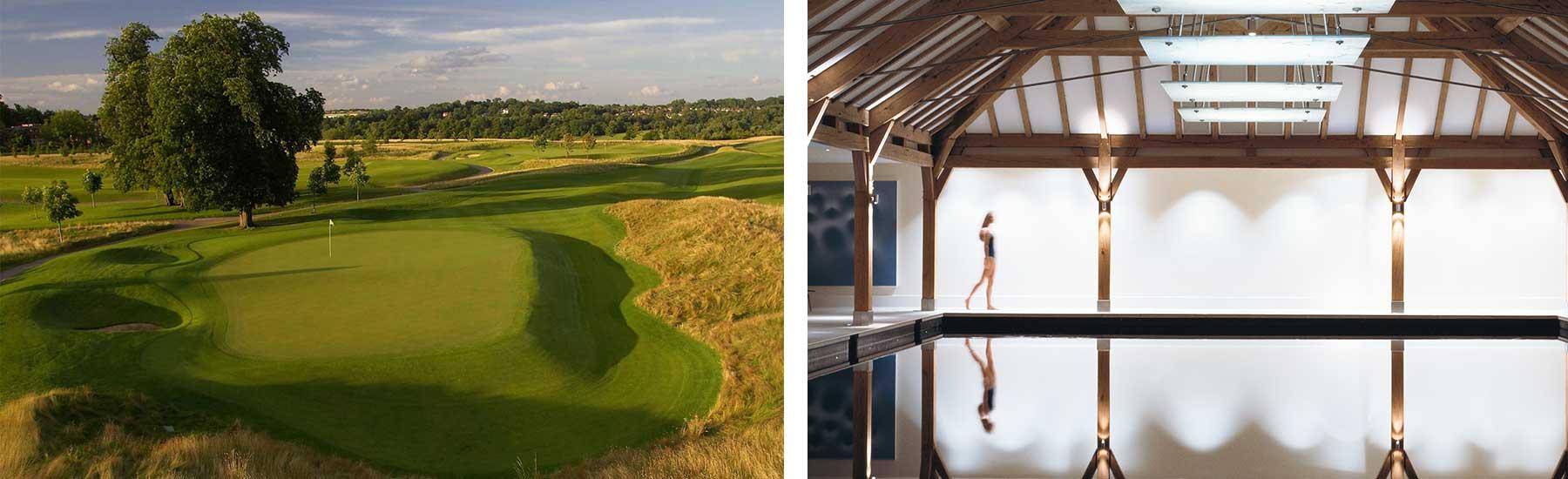 Top 5 London Golf & Spa Hotels