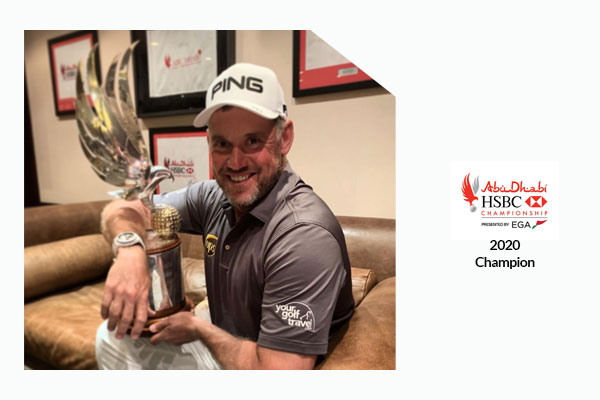 Lee Westwood Abu Dhabi Golf Championship Winner