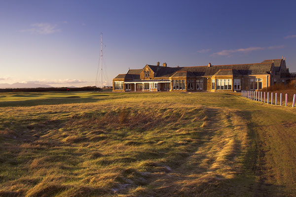 Royal Troon Golf Course Clubhouse