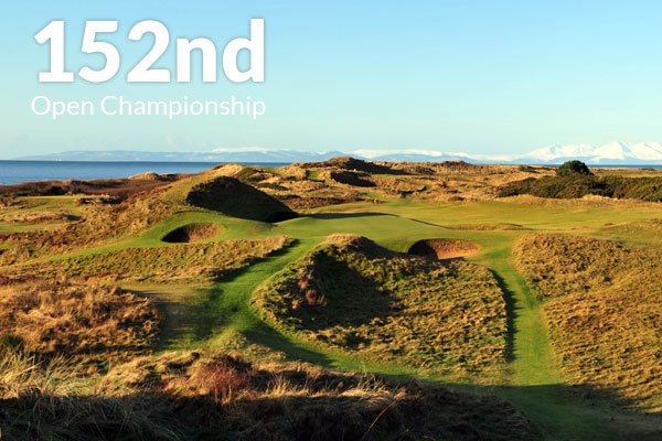 152nd Open Championship at Royal Troon Golf Course