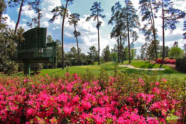 Augusta National - 10th Hole