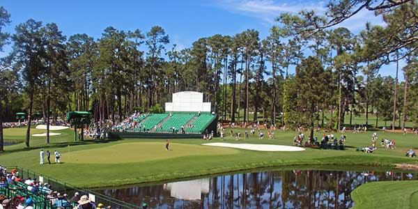 Augusta National - Hole 15 - Firethorn