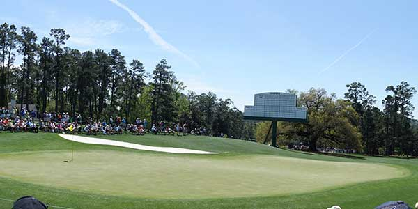 Augusta National - Hole 18 - Holly