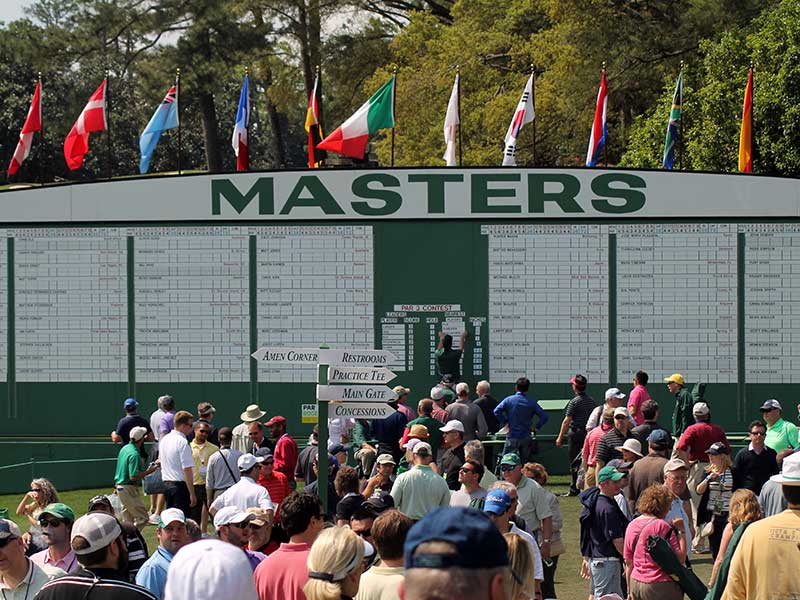 How to qualify for the Masters