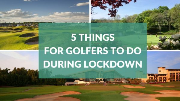 Top 5 golf things to do at home