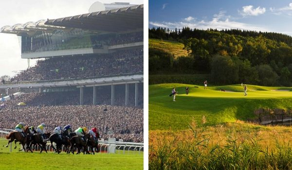 Golf and Horse Racing Breaks Combined