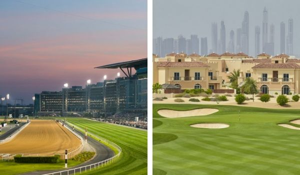 Racing and Golf in Dubai