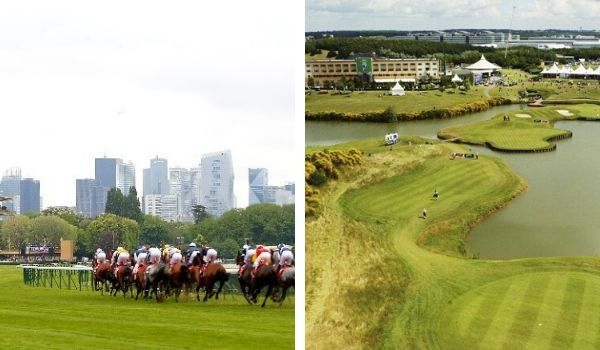 Horse Racing and Golf in Paris