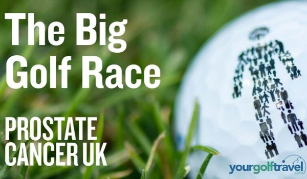 Big Golf Race for Prostate Cancer UK
