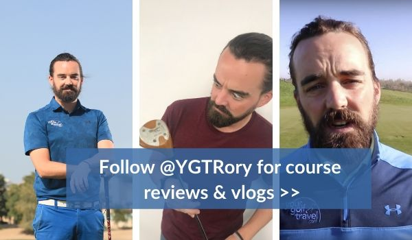Follow @YGTRory for course reviews & vlogs