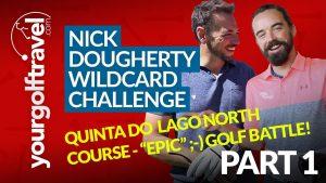 Nick Dougherty in the Algarve
