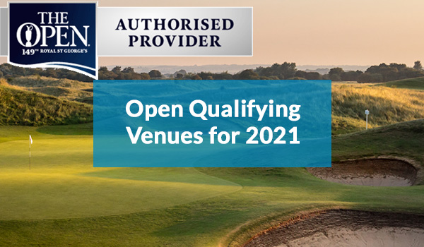 Open Qualifying Venues for 2021