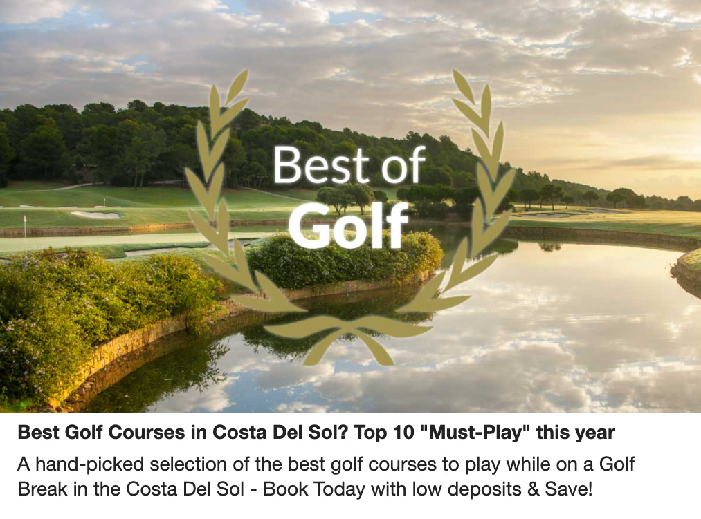 Best Golf Courses in the Costa del Sol